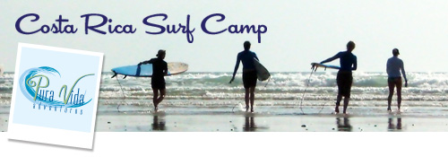 Costa Rica Surf Camp with Pura Vida Adventures