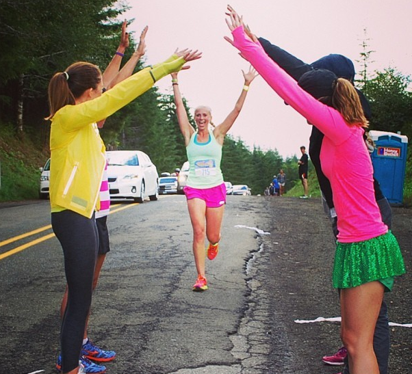 Feeling the love at Hood to Coast