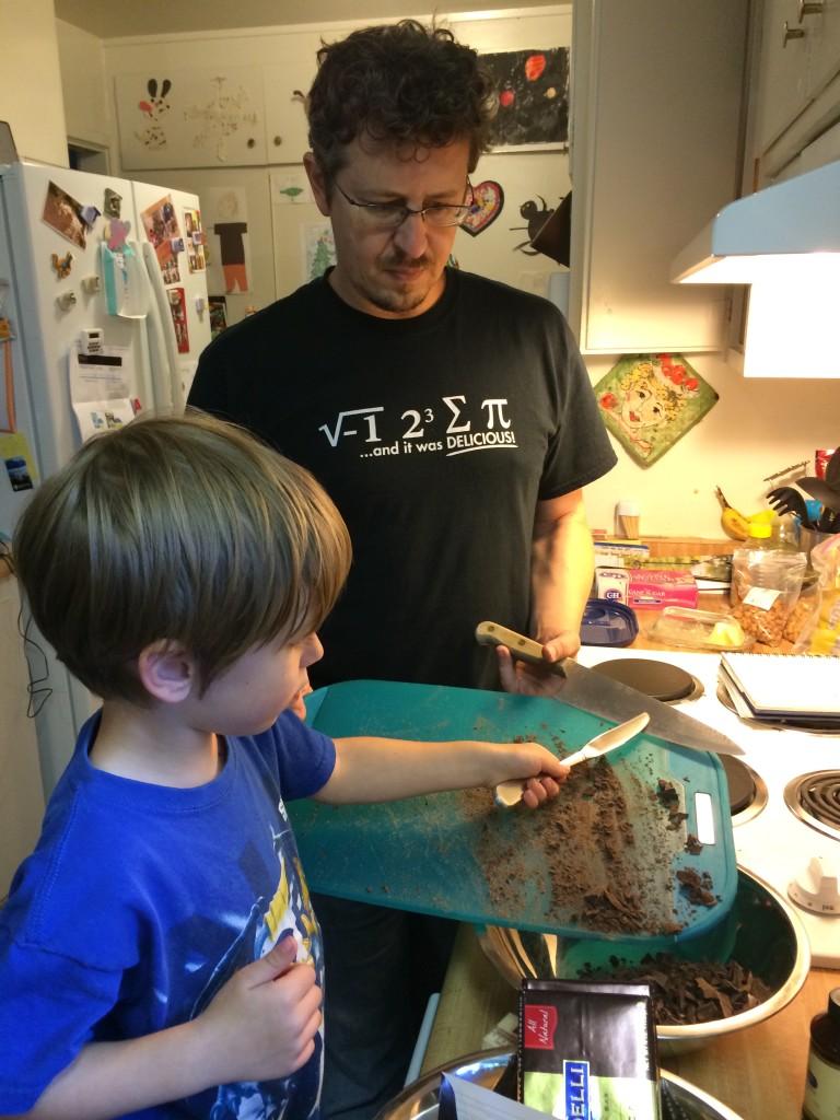Eats at T9HQ: Kaleb & Peter making cookies