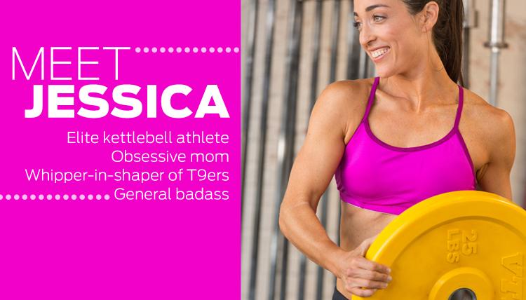 Meet T9 trainer Jessica