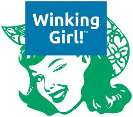 Winking Girl Logo