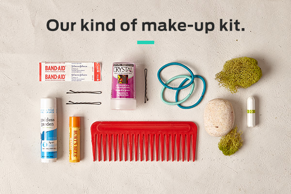 Our kind of make-up kit
