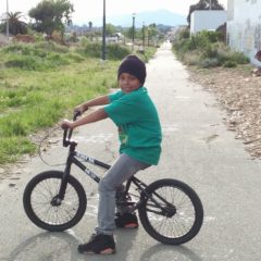 kid on a bike