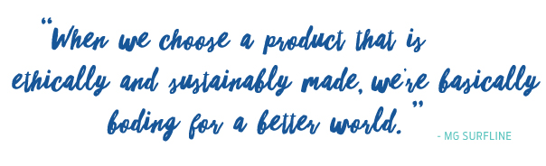 Sustainable products quote