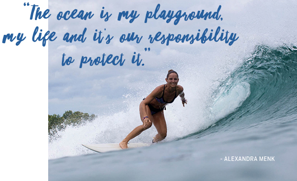 The ocean is my playground