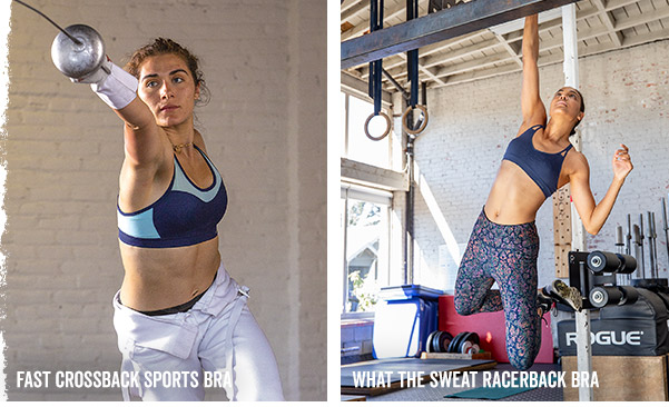 Fast Crossback Sports Bra