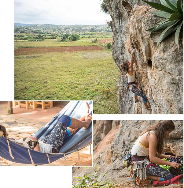Cuban climbing