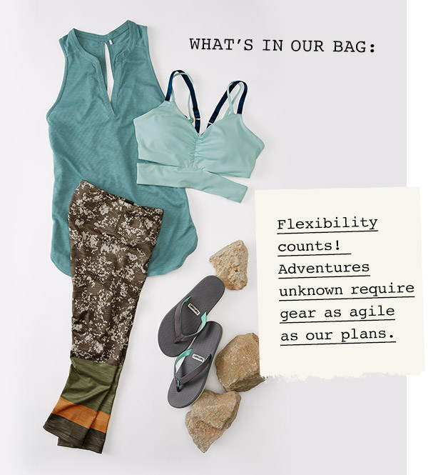 What's in our bag