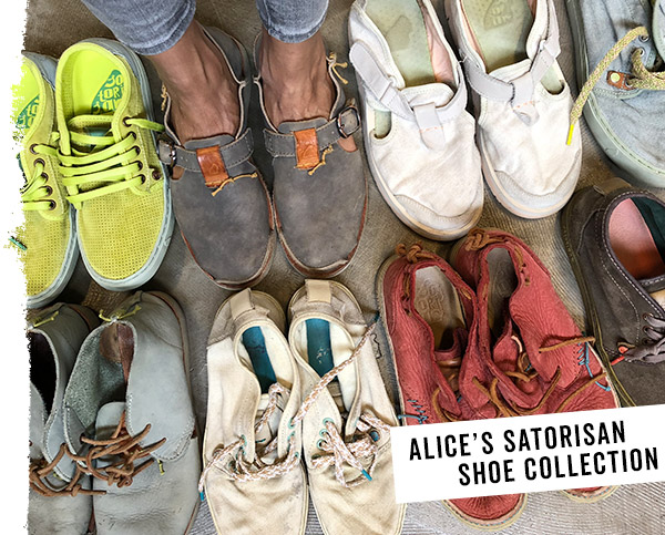 Alice's shoe collection