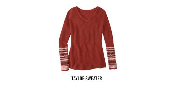 Krimson sweater