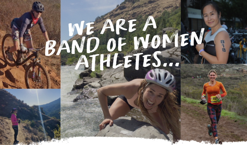 We are a band of women athletes